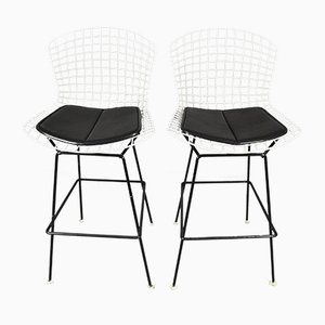 Chaises Vintage par Harry Bertoia pour Knoll International, Set de 2