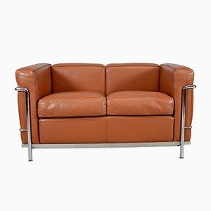 Vintage Sofa von Le Corbusier, Charlotte Perriand & Pierre Jeanneret für Cassina