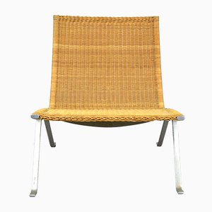 Vintage Wicker Chair by Poul Kjærholm for E. Kold Christensen