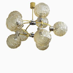 Large German Atomic Chandelier, 1960s