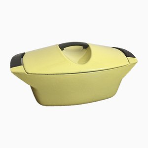 French Cocotte by Raymond Loewy for Le Creuset, 1950s
