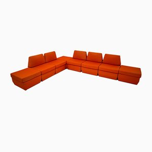 Unterteiltes Vintage Sofa