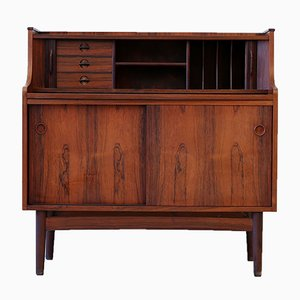 Danish Rosewood Secretary by Erik Sorth for Bornholm, 1960s