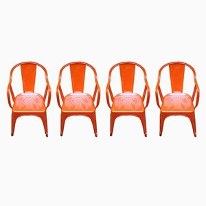 Vintage Tolix Chairs by Xavier Pauchard for 15WEST Studio, Set of 4