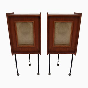 Mid-Century Speakers, 1950s, Set of 2