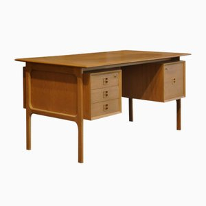 Vintage Oak Desk by Arne Vodder for Sibast, 1960s