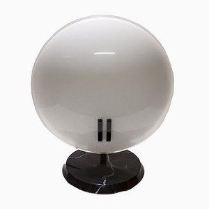 Lampada da tavolo Pearl grande di Bruno Gecchelin per Oluce, anni '80