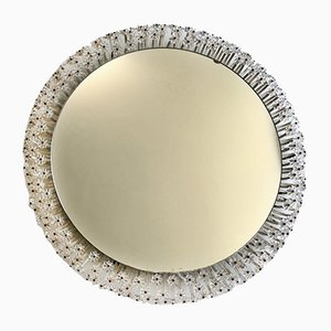 Specchio grande retroilluminato di Emil Stejnar, anni '60