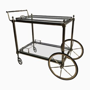 Silver Drinks Trolley, 1950s