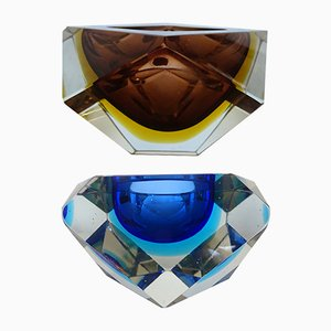 Bowls by Flavio Poli for Seguso, 1960s, Set of 2