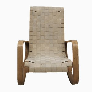 Rocking Chair Vintage par Luigi Crassevig