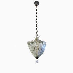 Lanterne Vintage en Verre de Seguso, 1940s