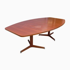 Vintage Mahogany Conference Table