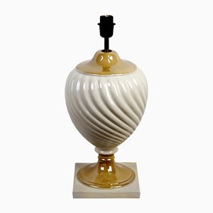 Lampada da tavolo in ceramica di Tommaso Barbi, anni '50