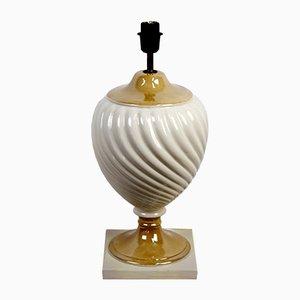 Tischlampe aus Keramik von Tommaso Barbi, 1950er