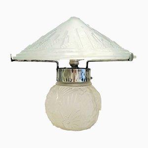 Lampe de Bureau Art Deco Vintage par Muller Frères, France