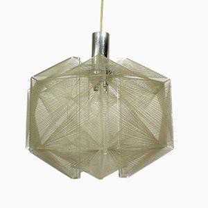 Lámpara colgante vintage de Paul Secon para Sompex, años 60