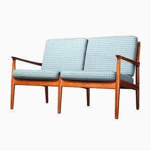 Canapé 2 Places Model GM 5 Vintage par Svend Aage Eriksen pour Glostrup