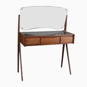 Vintage Danish Vanity Table in Rosewood