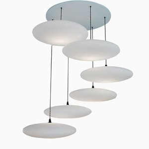 Ethel 6-Drop Suspension Lamp by One Foot Taller