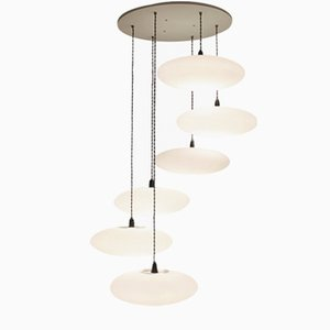 Etheletta 6-Drop Suspension Lamp by One Foot Taller