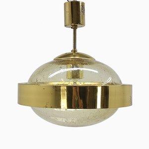 Lámpara colgante era espacial de Kamenický Šenov, años 70