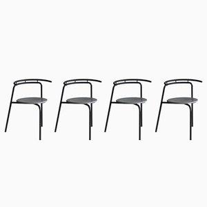 Beistellstühle von Ross Littell für Atelier, 1988, 4er Set