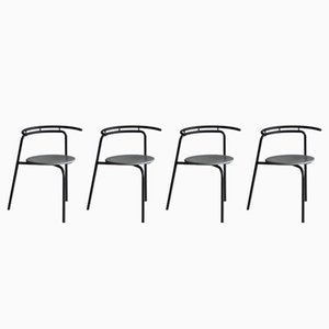 Side Chairs by Ross Littell for Atelier, 1988, Set of 4