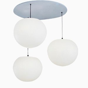 Polly 3-Drop Suspension Lamp by One Foot Taller