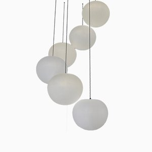 Polly 6-Drop Suspension Lamp by One Foot Taller