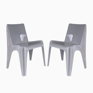 Mid-Century Model BA1171 Chairs by Helmut Bätzner for Bofinger, 1960s, Set of 2