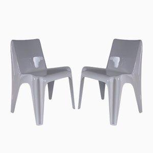 Mid-Century Modell BA1171 Stühle von Helmut Bätzner für Bofinger, 1960er, 2er Set