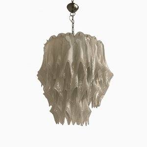Mid-Century Murano Glass Chandelier from Vistosi