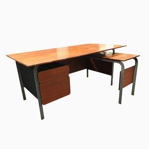 Großer Modell 660 Schreibtisch von Jean-Claude Duboys für Minvielle, 1967