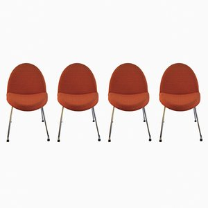 Model 771 Chairs by Joseph-André Motte for Steiner, 1950s, Set of 4