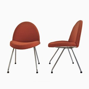 Model 771 Chairs by Joseph-André Motte for Steiner, 1950s, Set of 2