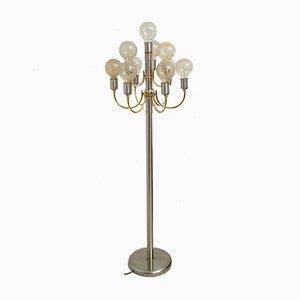 Lámpara de pie alemana de TZ Schmitz, años 70