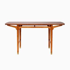 Tavolo vintage in mogano di Frode Holm