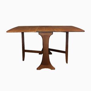 Ausziehbarer Vintage Esszimmertisch aus Teak