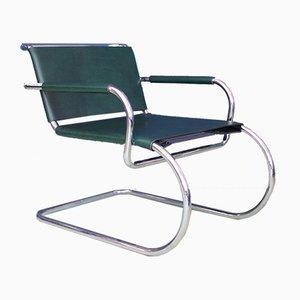 Vintage Stuhl aus Stahlrohr von Franco Albini für Tecta