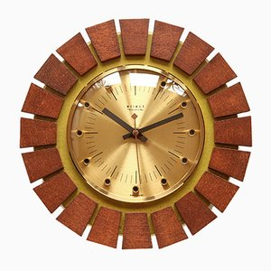 German Wall Clock, 1970s