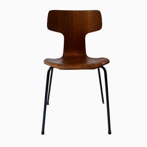 Silla Hammer de Arne Jacobsen para Fritz Hansen, años 60