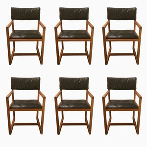 Dining Chairs from Habitat, 1988, Set of 6