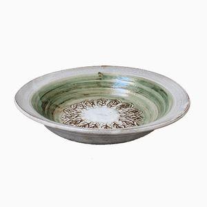 Cuenco Mid-Century de cerámica de Albert Thiry