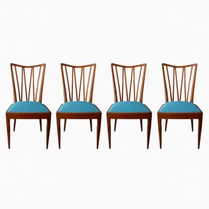 Dutch Rosewood Chairs by A.A. Patijn for Zijlstra Joure, 1950s, Set of 4