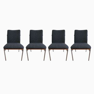 Rosewood Dining Chairs from Fristho, 1960s, Set of 4