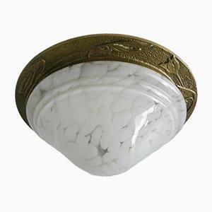 Lámpara de techo vintage de latón