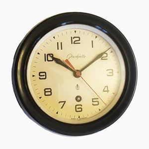 Reloj de pared de baquelita de Glashütte, años 60