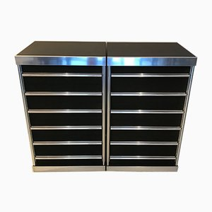 Chest of Drawers by Guido Faleschini, 1970s, Set of 2