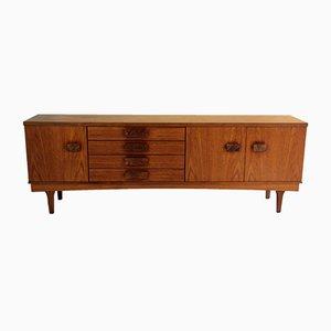 Credenza grande in teak di Bath Cabinet Makers, anni '60
